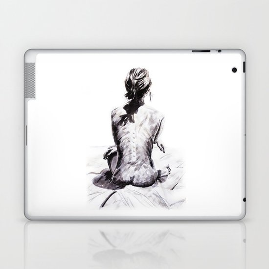 Back and Shadow Study Laptop & iPad Skin