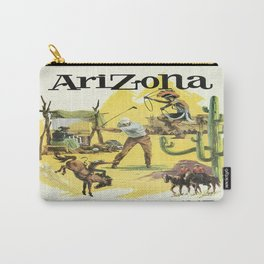 Vintage poster - Arizona Carry-All Pouch
