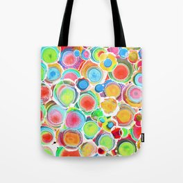 Sunshine on Your Spotty Mind (Alcohol Inks Series 07) Tote Bag