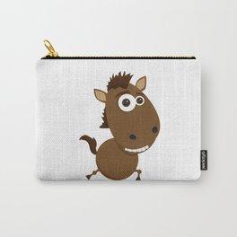 Cartoon Horse Carry-All Pouch