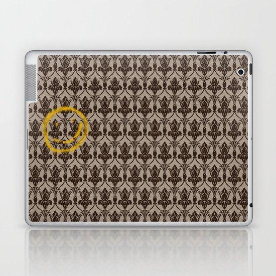Sherlock Wallpaper Laptop & iPad Skin
