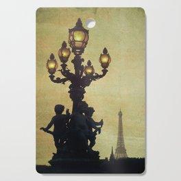 Paris (France) Cutting Board