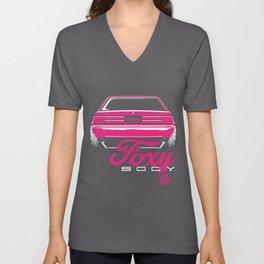 Foxy Body Pink Unisex V-Neck