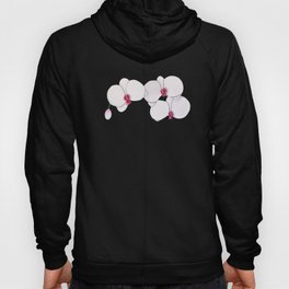 Trois Orchids and a Bud Hoody