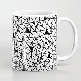 abstract triangle pattern Coffee Mug