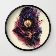 The Face Wall Clock