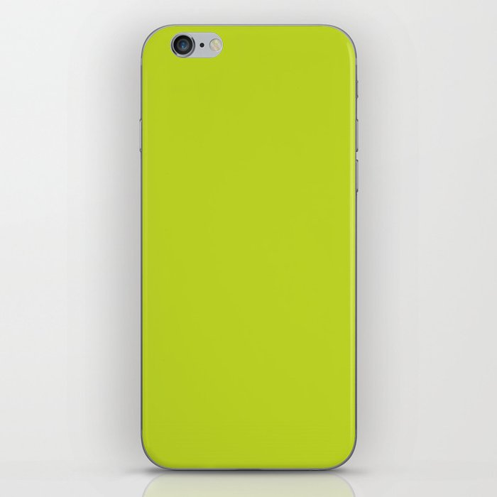 Lime Punch - Fashion Color Trend Spring/Summer 2018 iPhone Skin