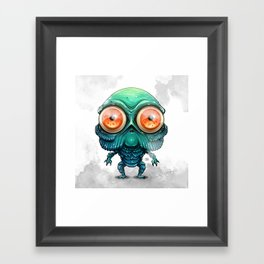 Lil Guy from the Lagoon Framed Art Print