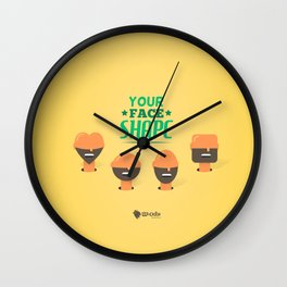 What's your Head Shape? Wall Clock