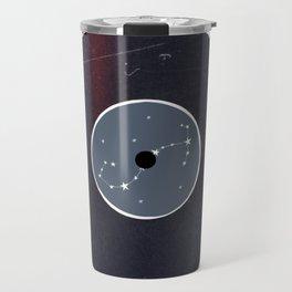Vinyl Record Star Sign Art | Scorpio Travel Mug