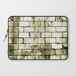 All The Bricks In The Wall Laptop Sleeve