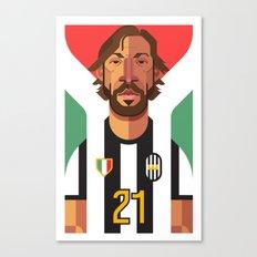 AP21   Bianconeri Canvas Print