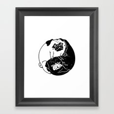 The Tao of Pug Framed Art Print