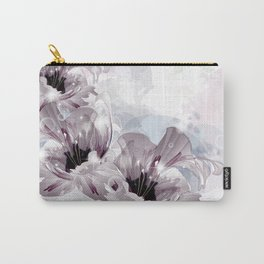 Artistic Flowers Carry-All Pouch