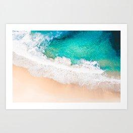 Bronte Beach Breaks Art Print