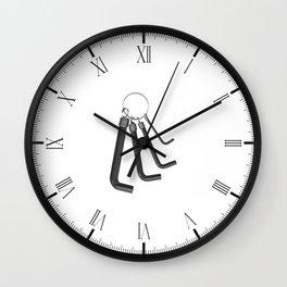 Allen Keys Wall Clock