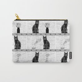 Black Cats Carry-All Pouch