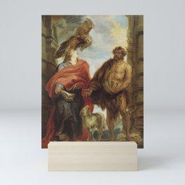 Anthony van Dyck - The Two Saints John Mini Art Print