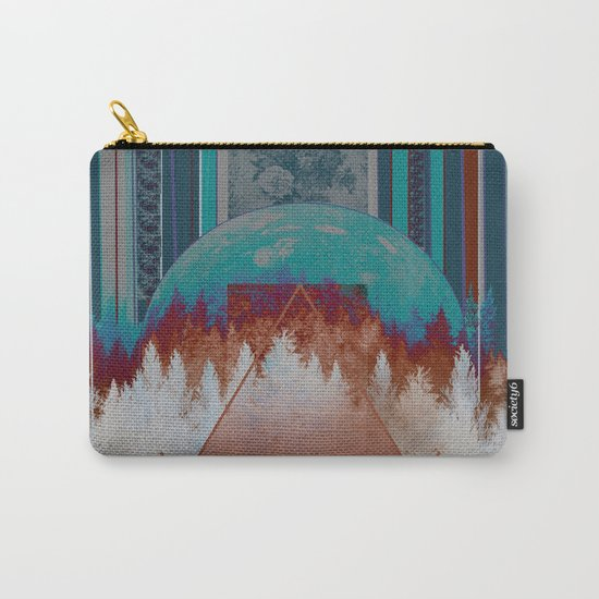 abstract floral forest 3 Carry-All Pouch