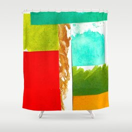 Colour Sample VII Shower Curtain