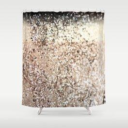 Sparkling GOLD Lady Glitter #2 #decor #art #society6 Shower Curtain