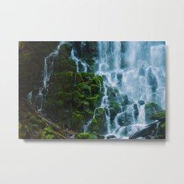 Water columns Metal Print
