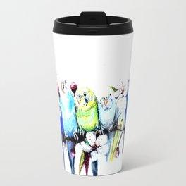 Bloomin' Budgies Travel Mug