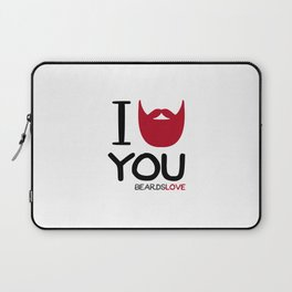 I BEARD YOU Laptop Sleeve