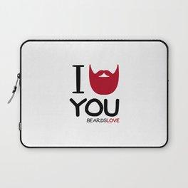 I BEARD YOU Laptop Sleeve