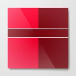 Team Color 6...maroon,red Metal Print