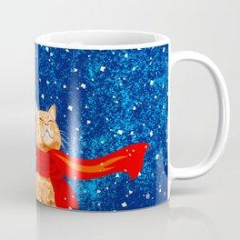 Tabby loves Snow... Coffee Mug