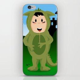 Dragon boy iPhone Skin