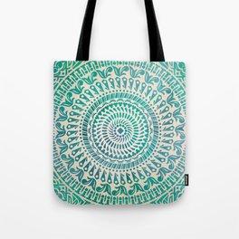 mandala4 Watercolor Mandala Tote Bag