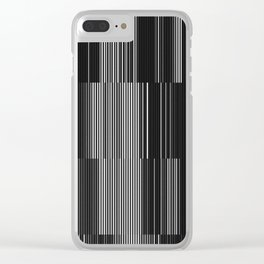 bars Clear iPhone Case