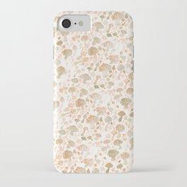 Mushrooms Watercolor iPhone Case
