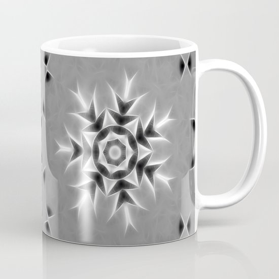 Gray Kaleidoscope Art 20 Coffee Mug
