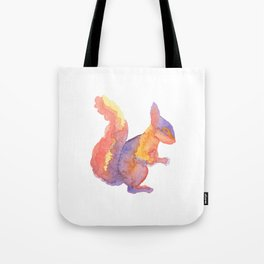 Les Animaux: Red Squirrel Tote Bag