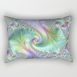 Fantastic factual fractal Rectangular Pillow