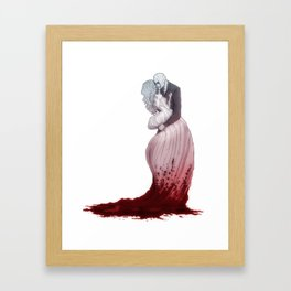 Love suicide Framed Art Print