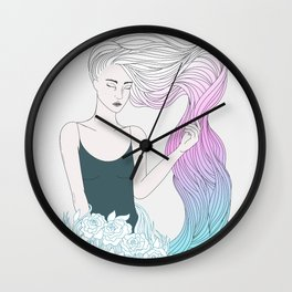 Dreamy Wall Clock