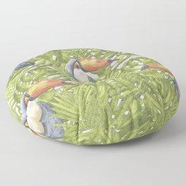 Toucan Floor Pillow