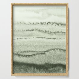WITHIN THE TIDES - SAGE GREEN by MS  Serving Tray