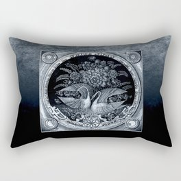 SwanCurios 04 Rectangular Pillow