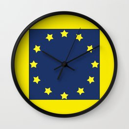 The European   Union 2 Wall Clock