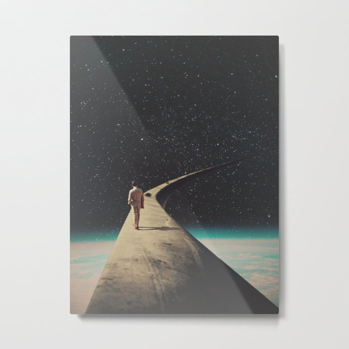 We Chose This Road My Dear Metal Print