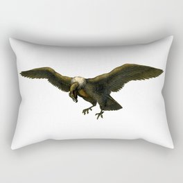 Vintage Vulture Rectangular Pillow