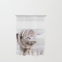 HIGHLAND CATTLE PORTRAIT Wall Hanging
