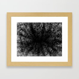 Abstract Radial Gradation Framed Art Print