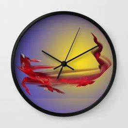 Dragon of Tenerife Wall Clock
