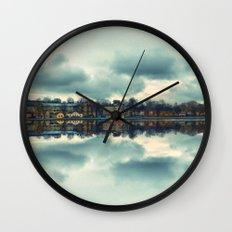 Stockholm upside-down Wall Clock